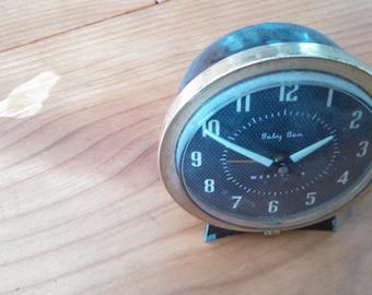 Baby Ben Westclox alarm clock