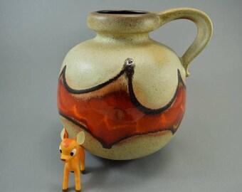 Vintage vase made by Scheurich / 484 21 / Batman | West German Pottery | 60s