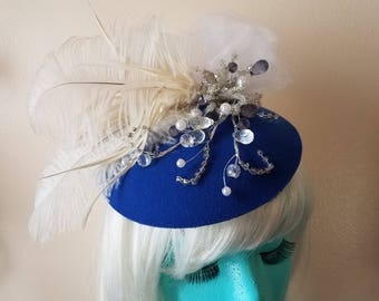 The Blue Happy Holiday Fascinator