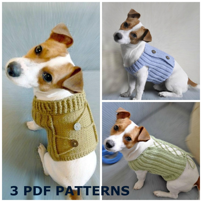 Free Knitting Patterns, Free Crochet Patterns, Dog Sweater Pattern ...