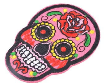 Patch head patch Mexican 71 x 52 mm