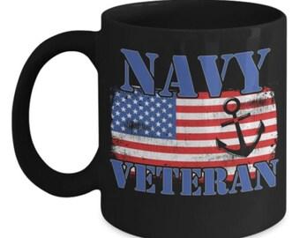 Navy Mom Gift - Navy Mom Mug - Navy Wife Mug - Navy Wife Gift - Navy Girlfriend Gift - Navy Girlfriend Mug - Veteran Gift - US Navy
