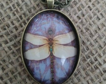 Dragonfly Pendant - Dragonfly Necklace - Dragonfly Jewelery - Birthday Gift - Christmas Gift - Mothers's Day Gift