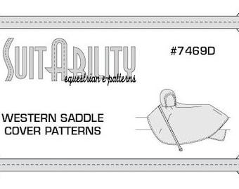 PDF Western Saddle Cover Pattern