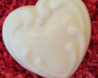 Pick Your Own Scent Soap; Free Shipping Soap Bar (Domestic Only); Goats Milk; Valentine; Heart Soap; Victorian Heart
