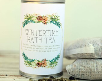 Wintertime Bath with Skin Softening Goat's Milk