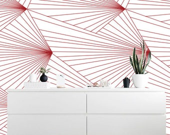 Removable wallpaper/Wallpaper/Peel and Stick/Self adhesive wallpaper/Modern Wallpaper /Creative patern S127