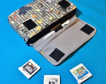 Trash Animals 3DS / 3DS XL / New 3DS Carrying Case - MADE to ORDER