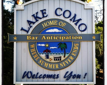 Jersey Shore - Bar A Lake Como coaster