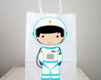 Space Party Goody Bags,  Astronaut Goody Bags, Space Goody Bags, Space Favor Bags, Astronaut Favor Bags