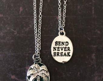 Palm Tree - Palm Tree Necklace - Palm Tree Jewelry - Palm Tree Pendant - Encouragement Gift - Encouragement Jewelry - Hawaiian Jewelry