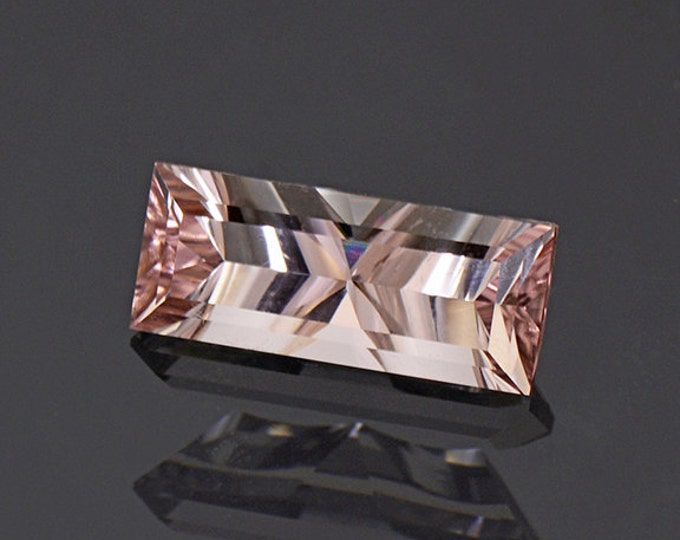 FLASH SALE! Concave Cut Pink Tourmaline Gemstone from Afghanistan 2.00 cts.