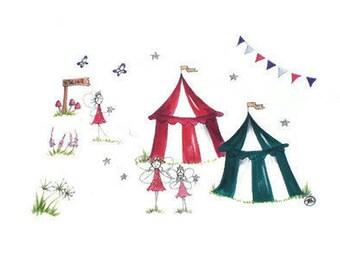 Fairy Fair Print