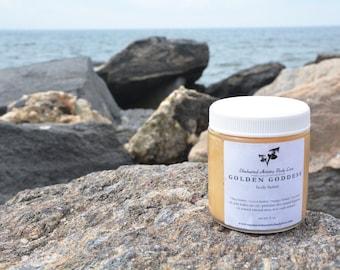 Golden Goddess Shimmer Butter, Natural Shimmer Body Butter, Golden Body Butter, Coconut Body Lotion, Organic Body Butter