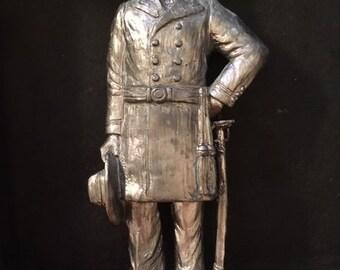 General Robert E Lee in Pewter
