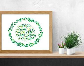 """Print """"Erlaube jedem Tag, der beste Deines Lebens zu werden"""""""