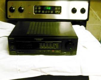 Sony TA-AX390 Stereo Amplifier with Spectrum Analyzer Phono input