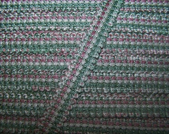 6 yard piece -Fancy Gimp green pink white