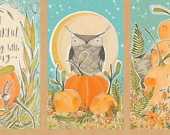 Autumn Bazaar Panel by Cori Dantini