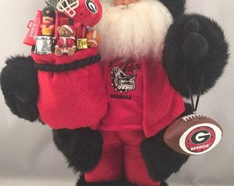 Georgia Bulldogs Santa Claus
