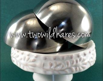 3″ BATH BOMB Mold, Heavy Duty, Stainless Steel, Won't Dent Like Others, Two Wild Hares