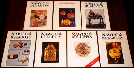 Bulletin of the National Association of Watch and Clock Collectors (NAWCC) 1994 Full Year + Supplement 20