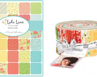 Jelly Roll Lulu Lane by Corey Yoder from Moda Fabric - Jelly Roll - 100% Cotton - Jelly Rolls -