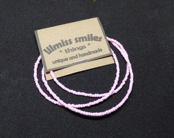 2mm Pink Glass Seed Beads