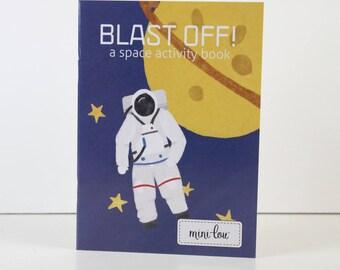 Blast Off Coloring Book