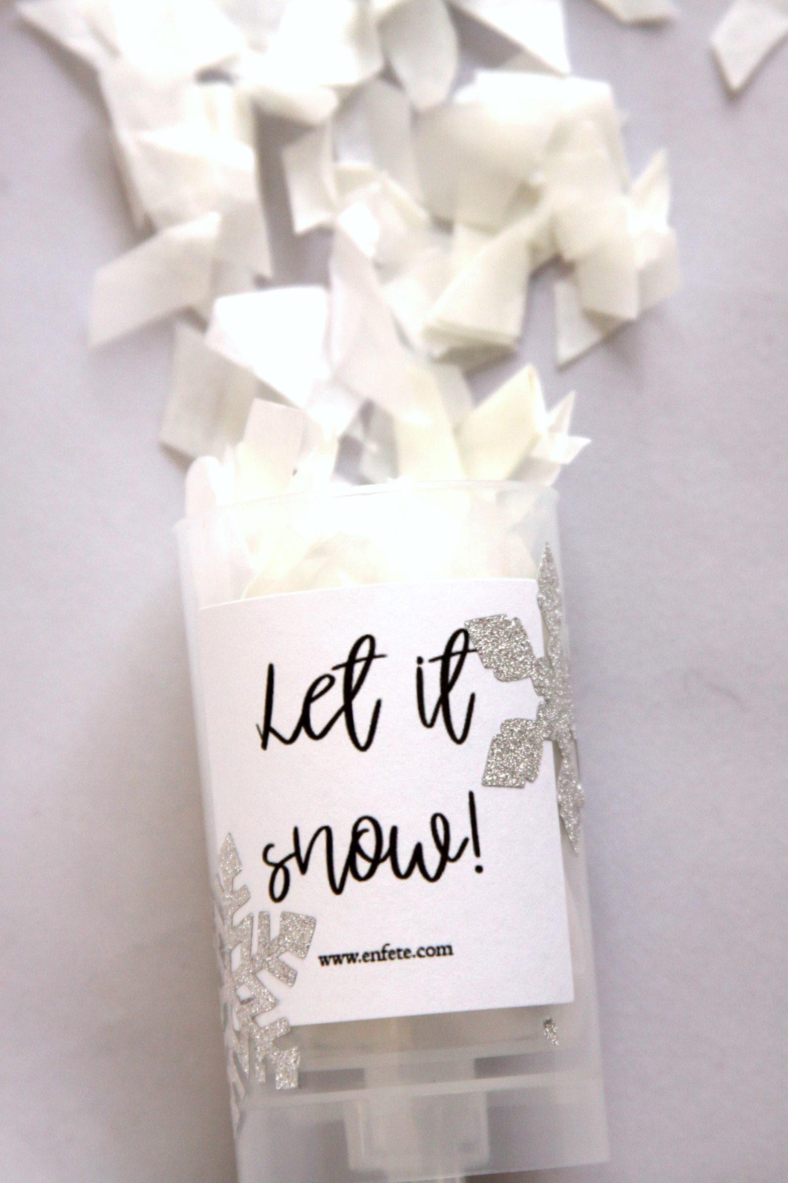 Let It Snow Confetti Pops, Unique Stocking Stuffers, Push Up ...