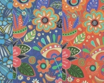 "20's Laminated Cotton Fabric by the yard 5TYPE_No31~35 Choice _43.3""  4YO 1006454"