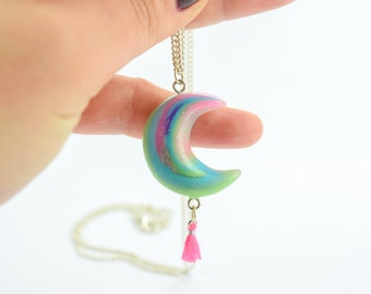 Bohemian Moon X-Necklace