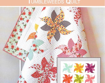 Pattern ''Tumbleweeds'' Quilt Sewing Pattern by Down Grapevine Lane (DG008)