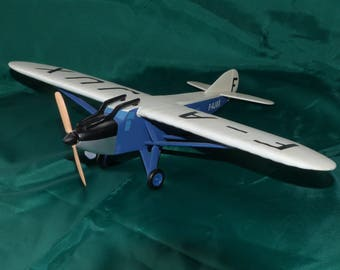 Model airplane by Latecoere 28 solid wood