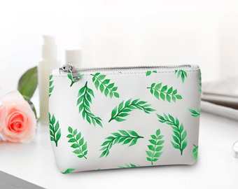 Personalized Make Up Bag Cosmetic Bag make Up Wash Bag Leather Make Up Bag Present Women Gift Toiletry Bag  Gift Unique CL7005