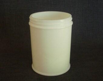 Antique Anchor Hocking Milk Glass Jar, Anchor Hocking Milk Glass, Milk Glass Canning Jar, Anchor Hocking Jar
