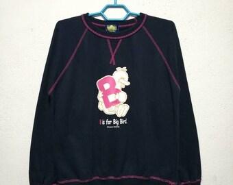 Vintage Sesame Street American Television Series Animation Sweater Sweatshirt