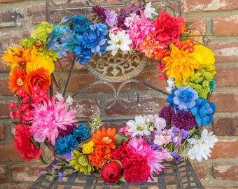 Rainbow Pride Wreath