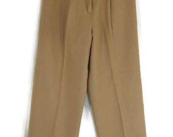 California made Patty Woodard Wool 70s Slacks
