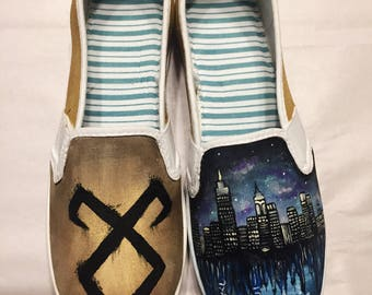 Shadowhunters Hand-Painted Shoes