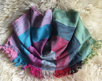 CLEARANCE SALE - Warm Woven Fall Scarf - 4