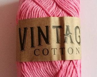 100g cotton dk pink