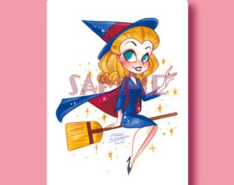 BeWitched Print