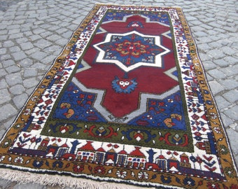 Turkish rug - vintage runner turkish rugs, rugs,