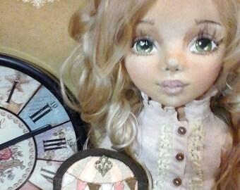 Traveler. Steampunk doll