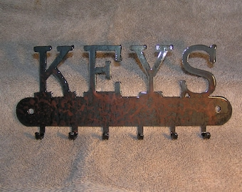 The Key Holder  - Metal art