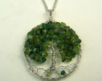 Best Friends necklace - Personalized gift for best friend - thank you gift - maid of honor - tree of life - sisters - birthstones