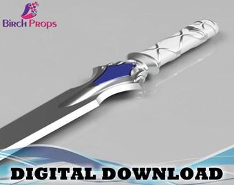 Asuna Sword: Sword Art Online - Download Only (STL 3D Files)