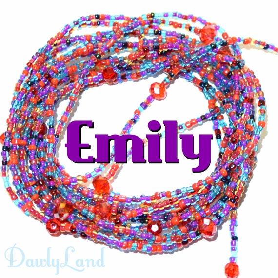 Waist Beads ~ Emily ~ LAST ONE ~ YourWaistBeads.com