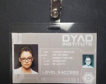 COSIMA - DYAD ID Badge *Printable File*